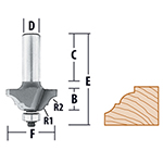 Classical Router Bits