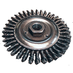 Stringer Bead Wheel Brush - Twist Wire