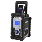 Cordless or Electric Job Site Radio with iPod / iPhone Docking Station